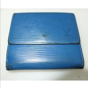 Louis Vuitton Epi Wallet Authentic
